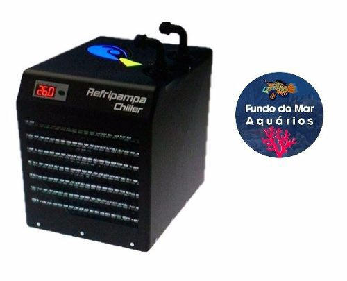 Resfriador Chiller Refripampa 1/3 Hp RF1200 Aquários 1200lL