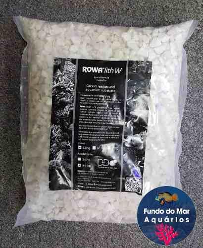 Rowalith W 6kg Mídia Para Reator De Cálcio