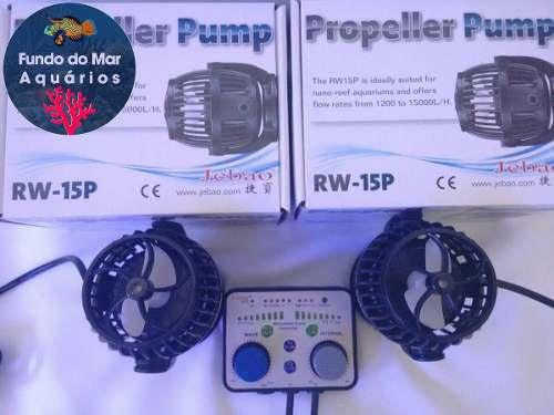 Bomba Jebao Com 1 Controlador Twins Para Duas Bombas Rw 15