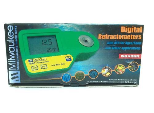 Refratômetro Salinidade Digital Alta Precisão Ma887