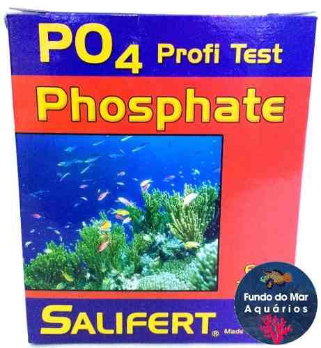 Teste Salifert Po4 Fosfato Faz Até 60 Testes