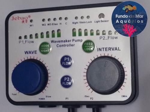 Controlador Twins Para Duas Bombas Wave Maker Jebao
