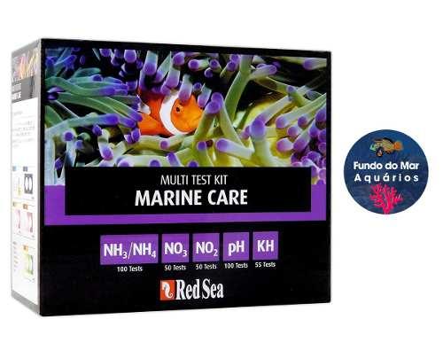 Red Sea Marine Care Kit Teste, No3, No2, Ph, Kh, Nh3/nh4