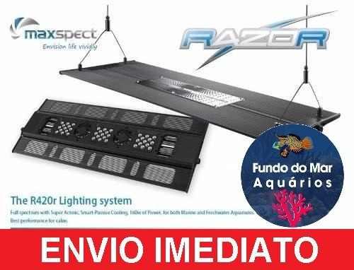 Luminária Maxspect Razor 160w 8k Aquários Plantados C/ Nf-e