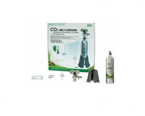 Kit Co2 Ista Completo Cilindro 1l Com Solenóide Aquário