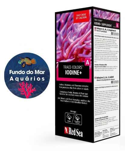 Red Sea Coral Colors A ( Iodine ) 500ml Suplemento Coloração