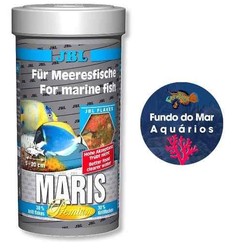 Ração Para Peixes Agua Salgada Jbl Maris 45g Alimento