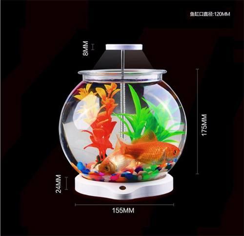 Sunsun Aquário Ats-180 C/ Luminária Para Betta