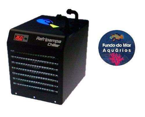 Resfriador Chiller Refripampa 1/6 Hp RF500 - Aquários 500lL