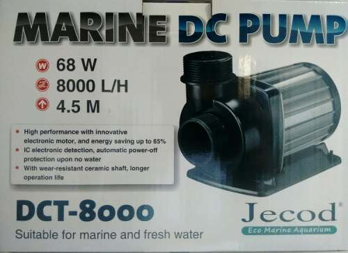 Bomba Recalque Jebao Dct-8000 De 6000 A 8000lts