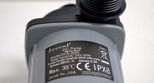 Bomba Eletrônica Jebao Dcs 2000 Fluxo 900 A 2000litros 20w