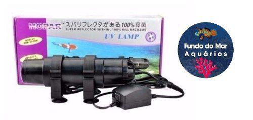 Hopar Filtro Ultravioleta Uv 611 7w 110v Aquários e Lagos