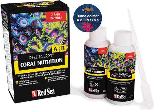 Suplemento RED SEA REEF ENERGY A/B Pacote 2x 100ml