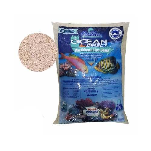 CaribSea Substrato Vivo Aragonita Ocean Direct Live - 18kg