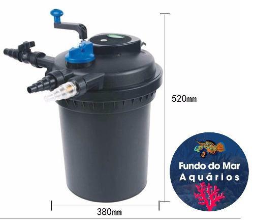 Sunsun Filtro Pressurizado Cpf-10000 Uv-11w P/ 6000l 127v