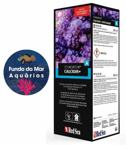 Red Sea Reef Foundation A 500ml Suplemento Cálcio/Strôncio