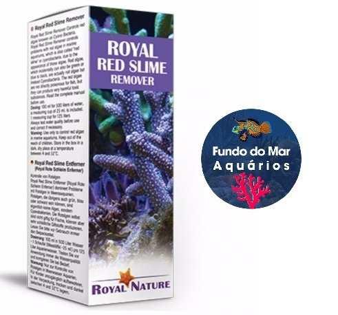 Removedor de Algas Vermelhas ROYAL NATURE RED SLIME 125ML