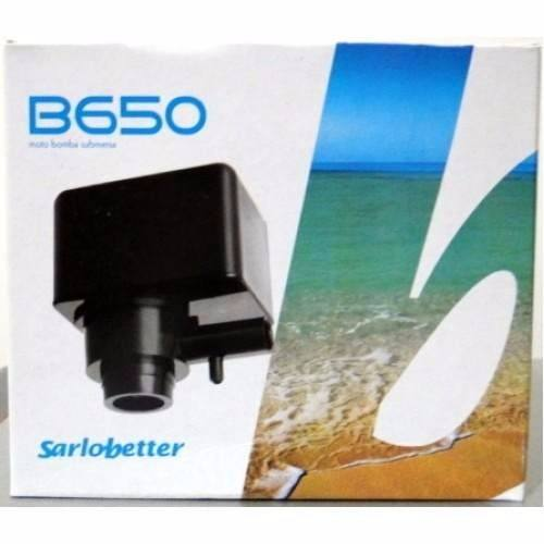 Bomba Submersa Sarlo Better B650 650l/h Aquários Fontes 220v
