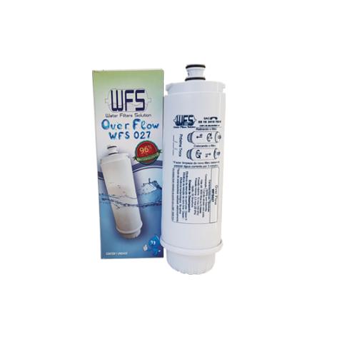 3x Refil Wfs027 Over Flow P/ Purifica De Água Ibbl C+3  Cz+7