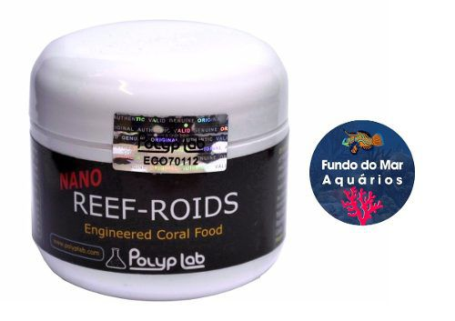 Polyplab Reef- Roids Coral Food 30g Alimento P Corais