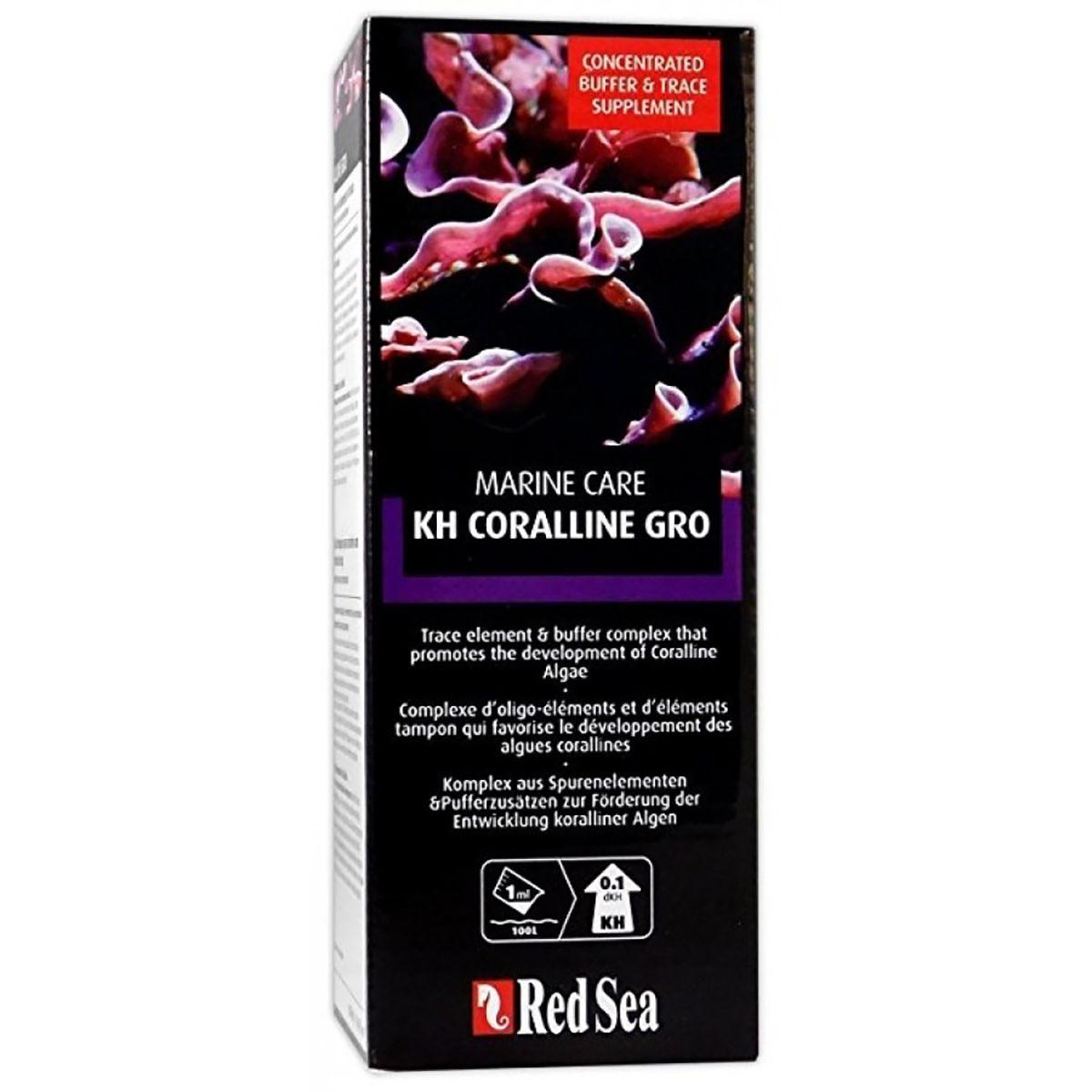 Acelerador Algas Calcarias 500ml Red Sea Kh Coralline Gro