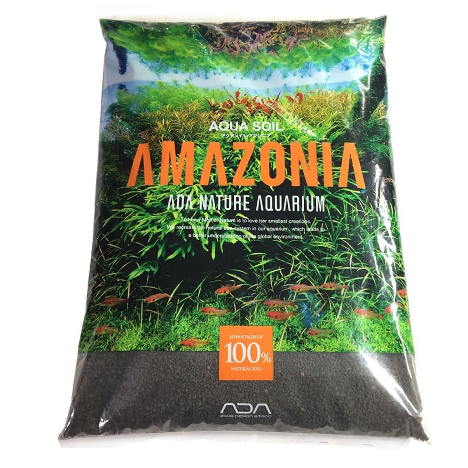 Ada Aqua Soil Amazonia 9l Tipo Normal Substrato Fertil