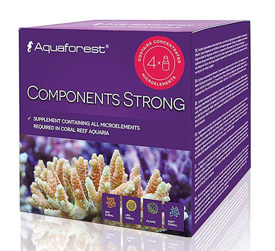 Aquaforest Component Strong 4X75ml Suplemento para Corais