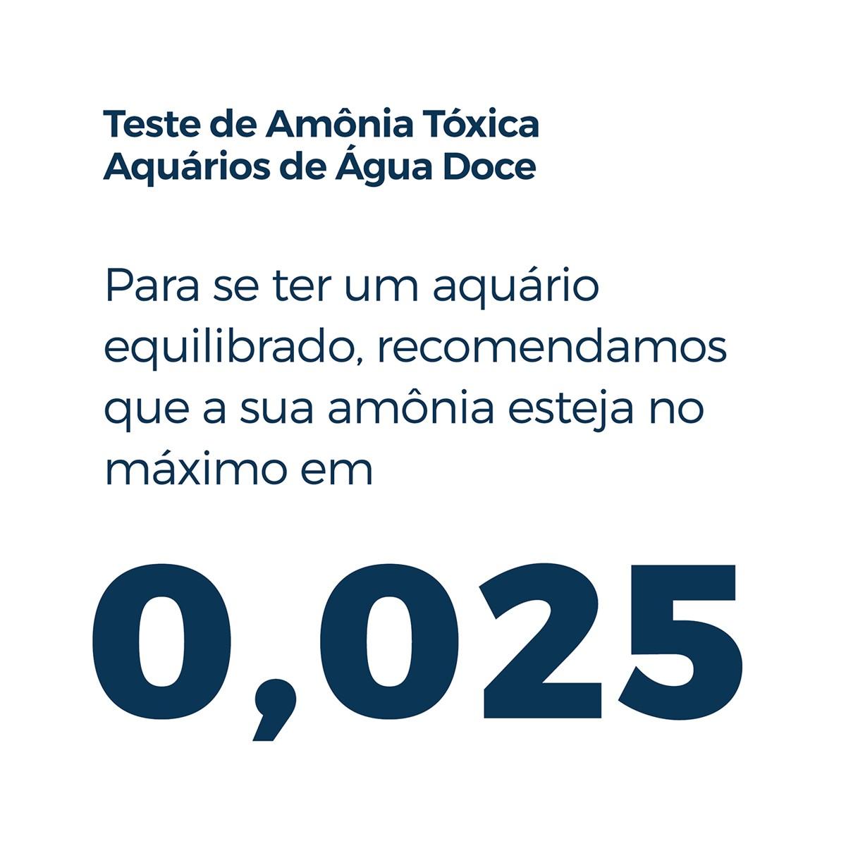 Alcon Labcon Test Amônia Tóxica Água Doce - 50 Testes