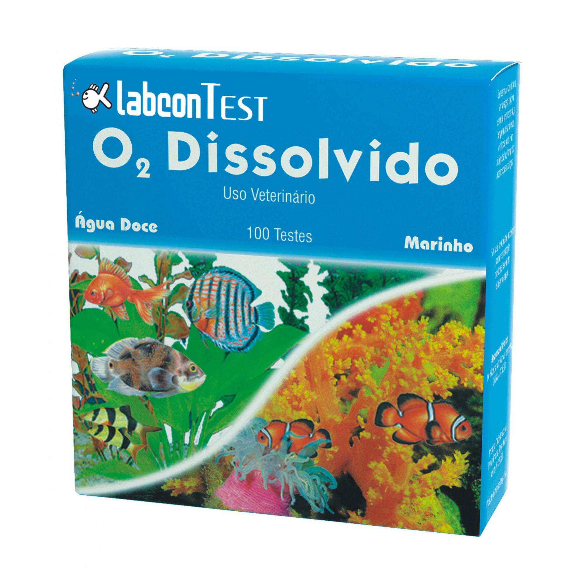 Alcon Labcon Test O2 Dissolvido - 100 Testes
