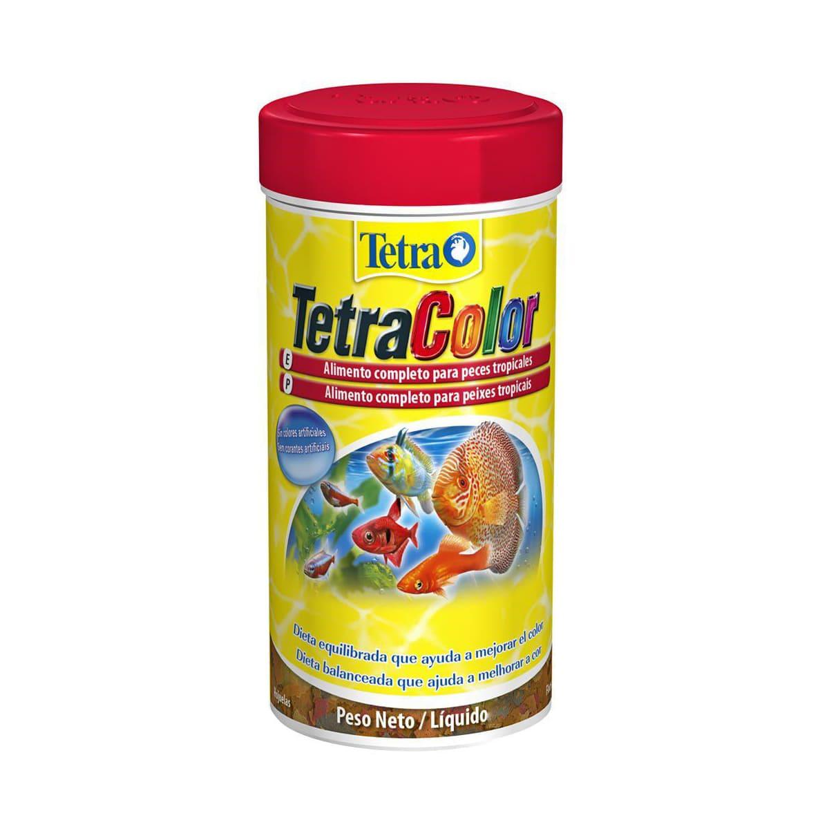 Tetra Colors Flakes 20g Alimento Colorante para Peixes