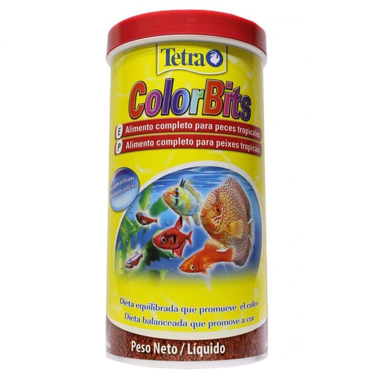 Alimento Colorante Tetra Colors Bits Granules 30g