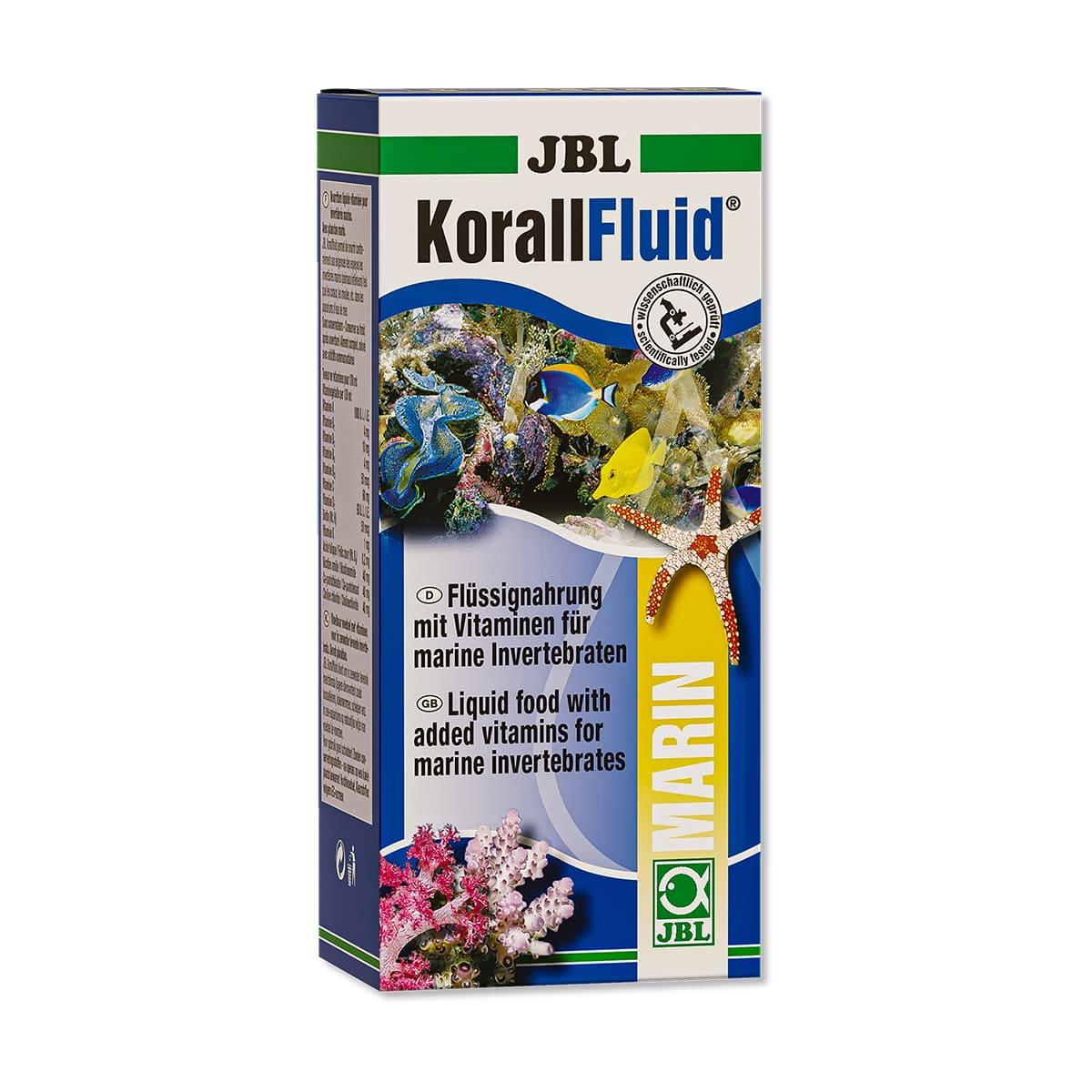 Alimento para Corais Jbl Korallfluid 500ml  Cor e Crescimento