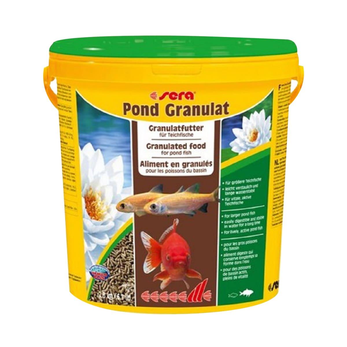 Sera Pond Granulat 2,8kg Alimento para Peixes de Lago