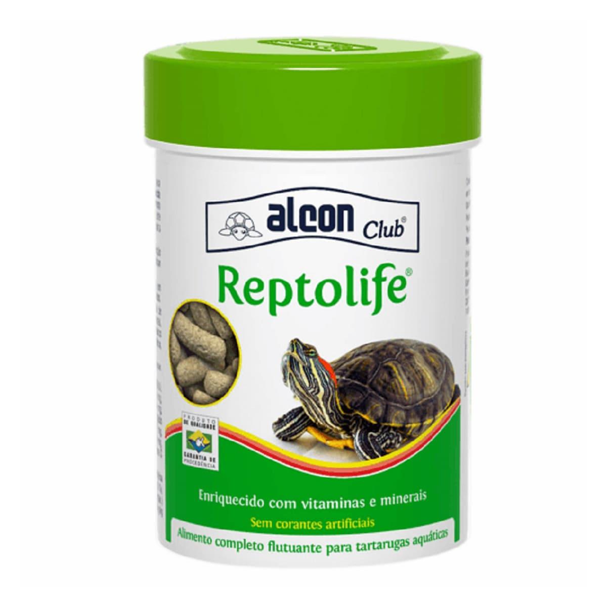 Alcon Reptolife 30g Alimento para Tartarugas Aquáticas