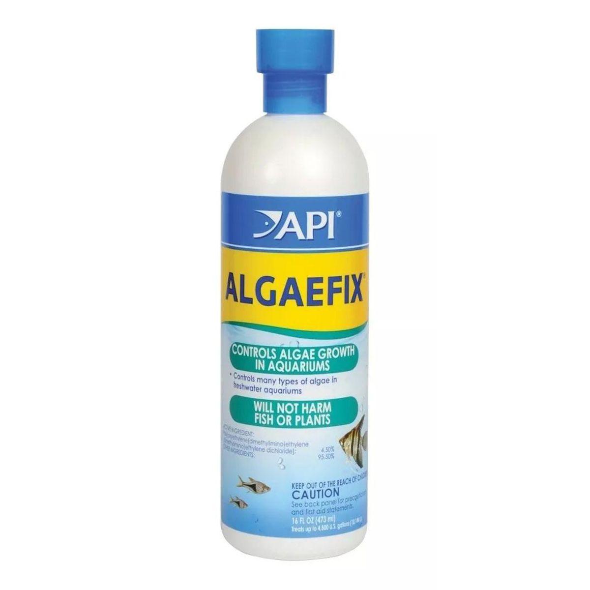 Algicida de Água Doce Api Algaefix 473ml
