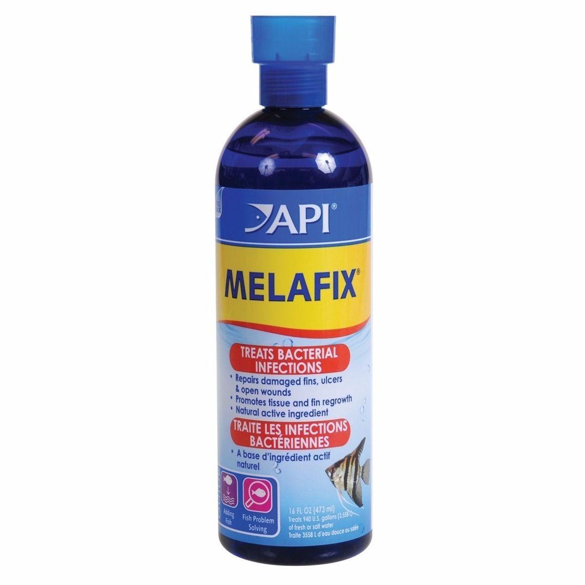 Trata Infecções Peixes de Água Doce Api Melafix  - 237ml