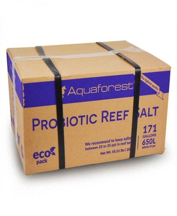 Aquaforest Probiotic Reef Salt 25kg