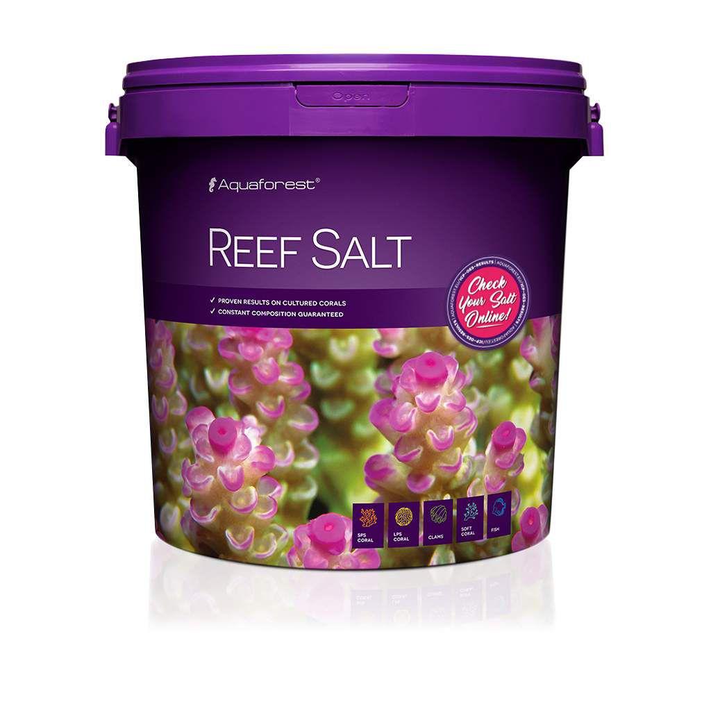 Sal Marinho Aquaforest Reef Salt 22kg Especial para Corais