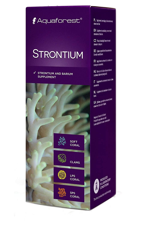 Aquaforest Strontium - Suplemento de Estrôncio - 50ml