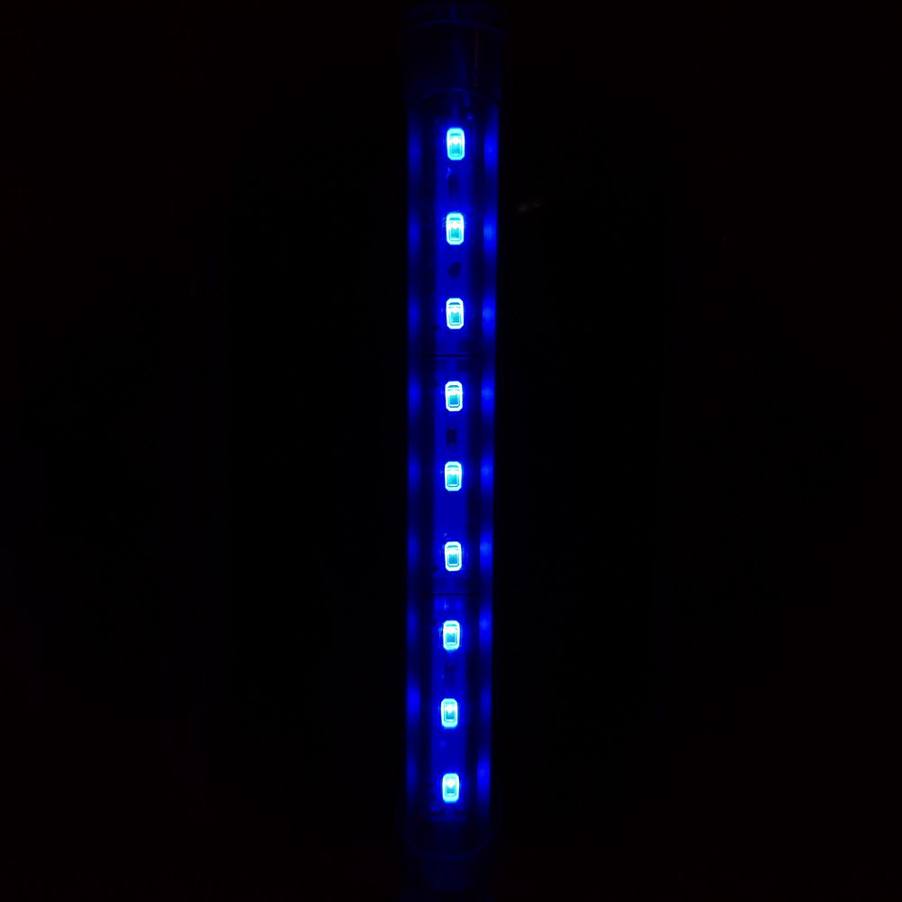Aqualumi Luminária LED 15CM Azul + Fonte