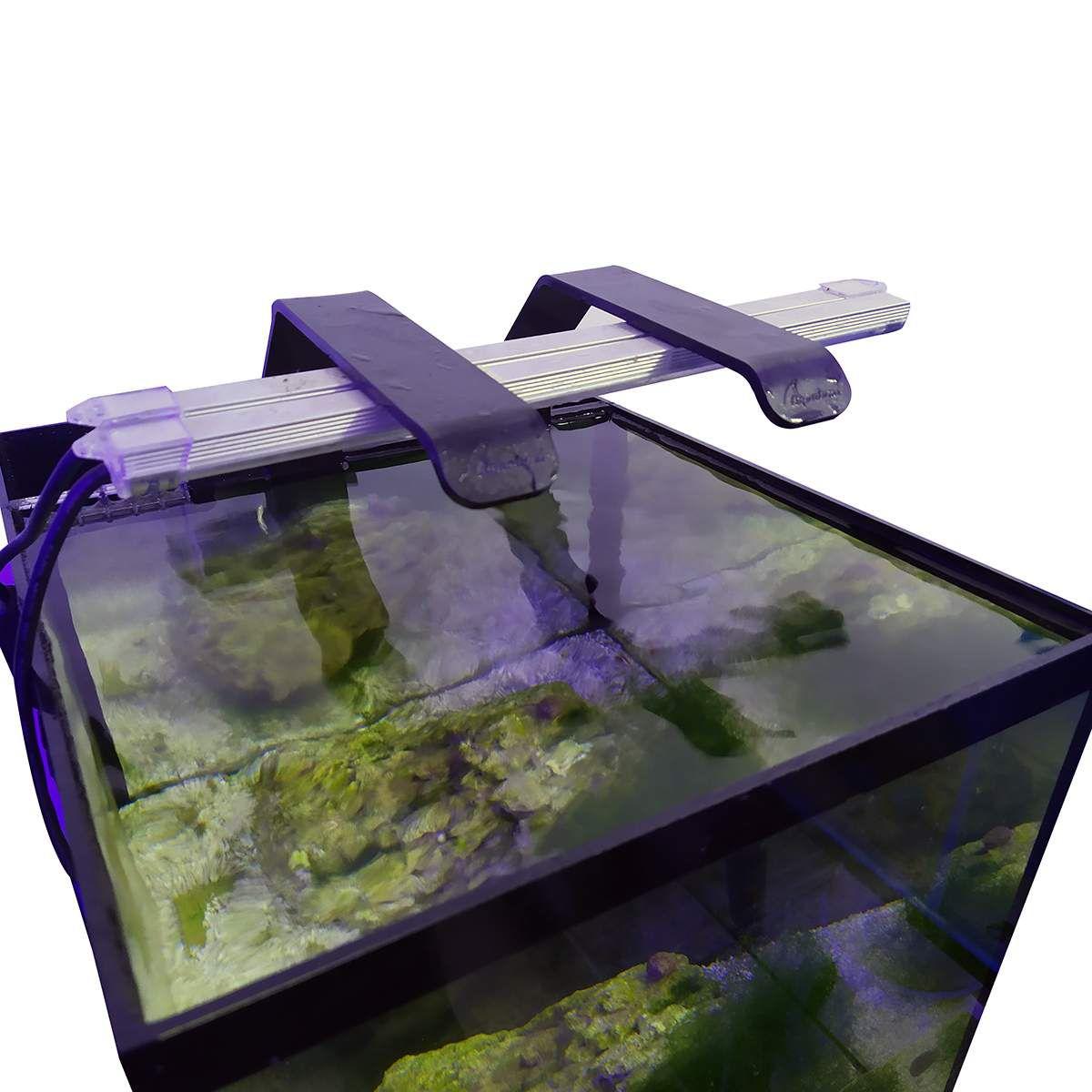 Aqualumi Luminária LED 20CM Super Branca + Fonte