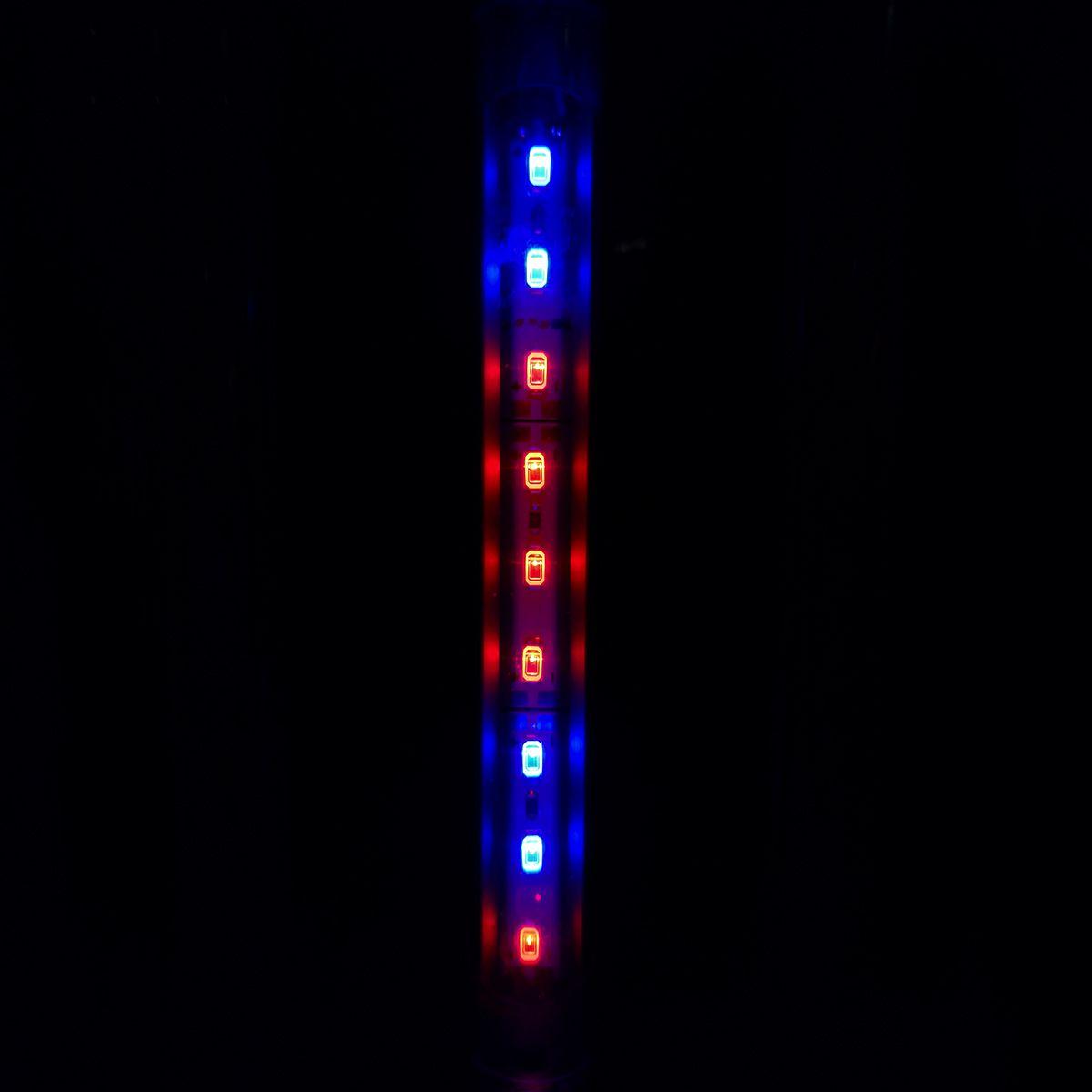 Aqualumi Luminária LED 30cm 4 Vermelhas / 2 Azuis + Fonte