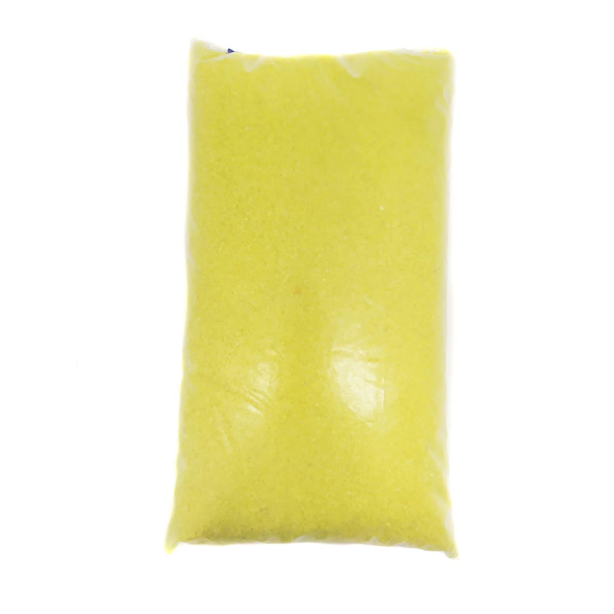 Areia Amarela para Aquários e Jardins Decoração Nº 0 - 1kg