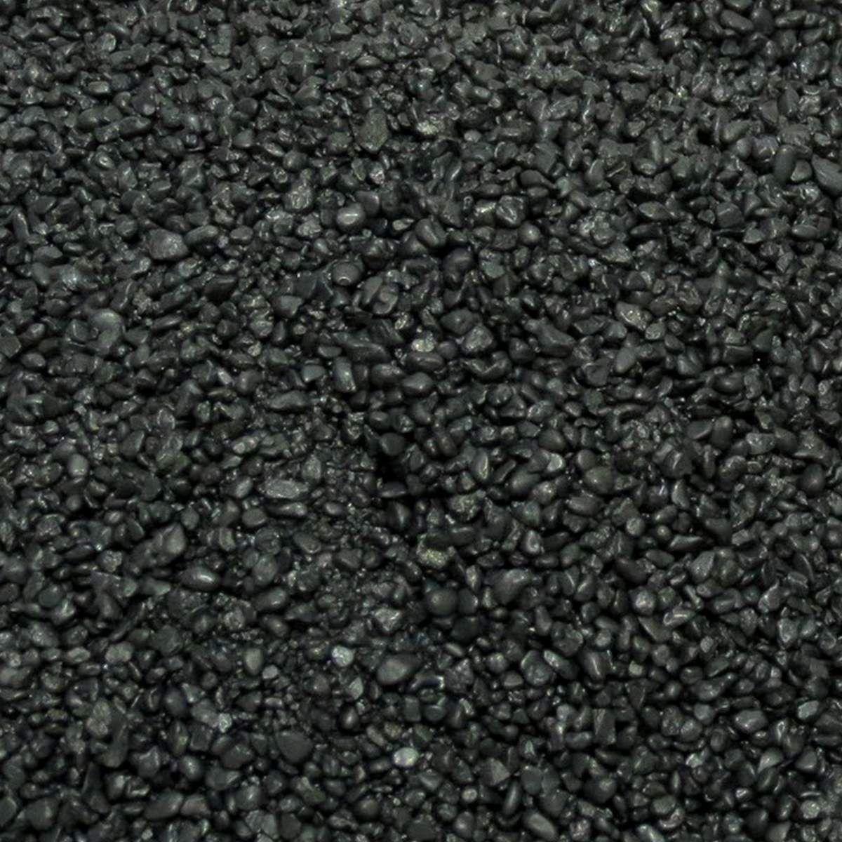 Areia Preta Decorativa Mbreda Blackblue Balde 25kg