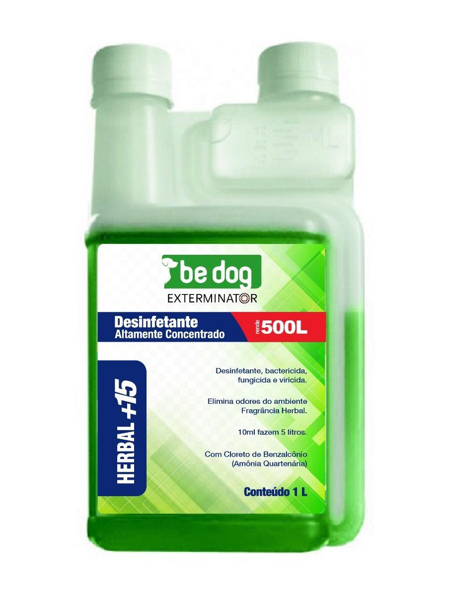 Be Dog Exterminator Desinfetante Altamente Concentrado 1l