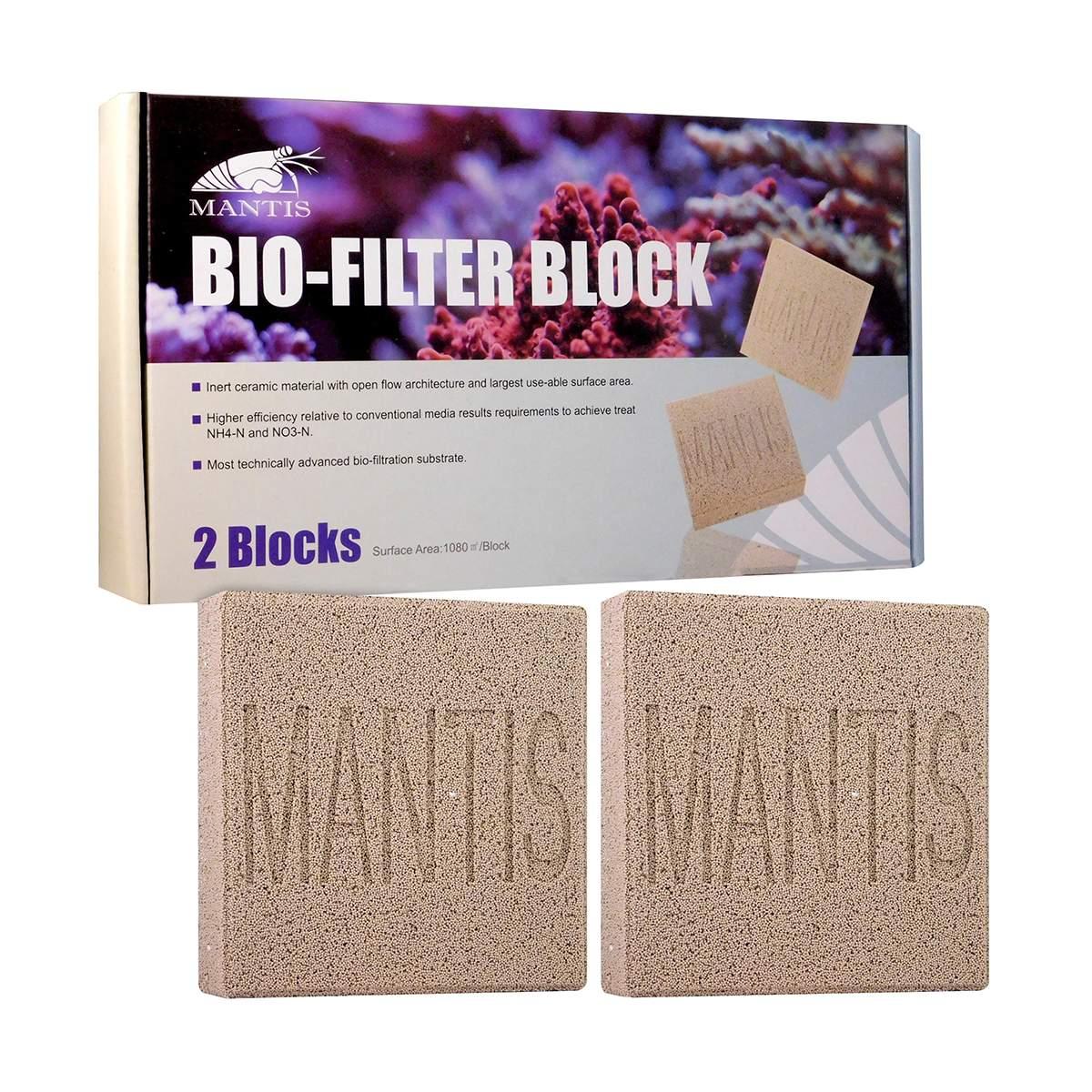 Cerâmica Mantis Bio Block Mídia Super Biológica trata 2800L