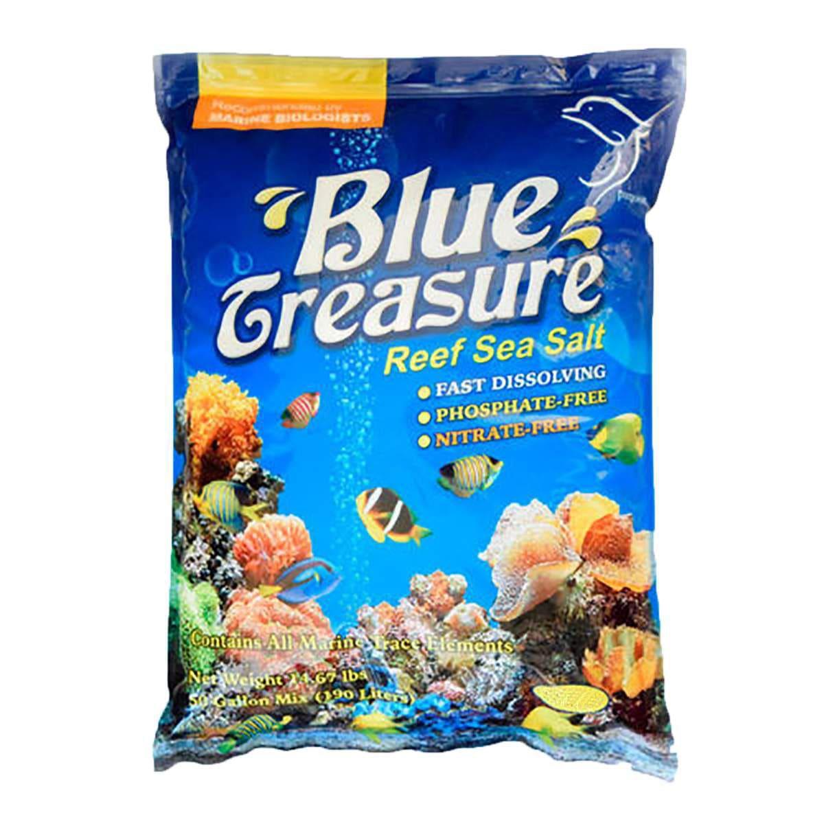 Blue Treasure Reef Sea Salt 3,35kg + Brinde