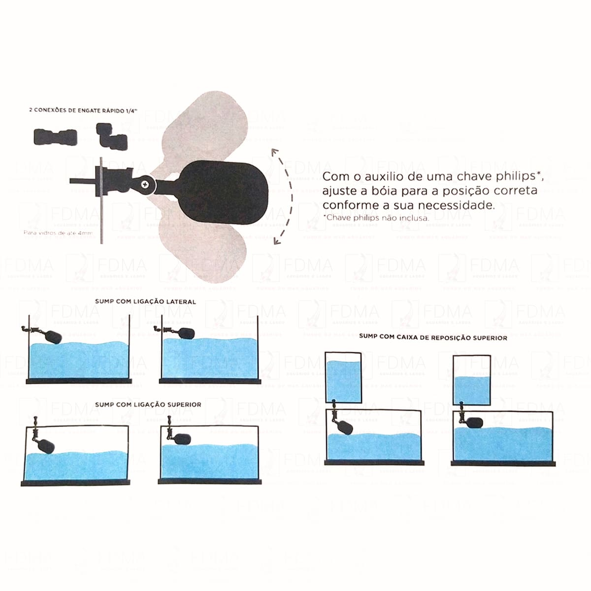 Boia De Nível Soma - Float Valve Tool (modelo AB)