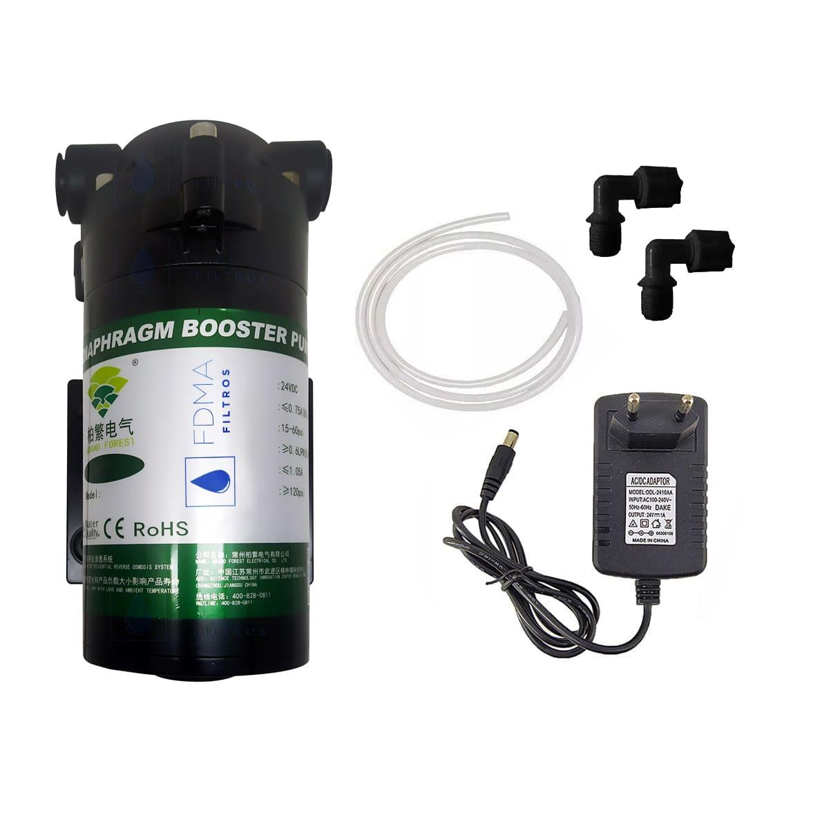 Bomba Pressurizada P/ Osmose Reversa 100gpd