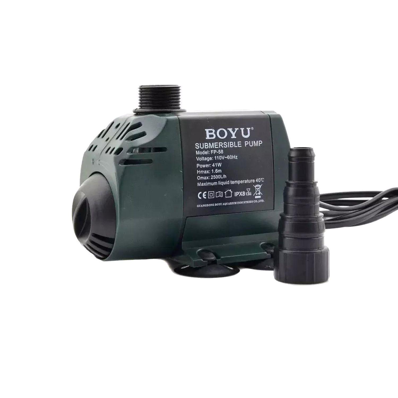 Bomba Submersa Boyu Fp 58 2500l/h 220v Aquários e Lagos
